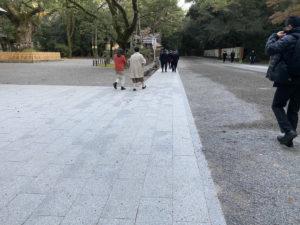 熱田神宮 伝馬町 初詣 ベビーカー