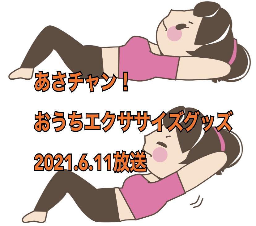 2021年6月11日放送(TBS)あさチャン! PLAZA「おうちエクササイズグッズ」 ラングス どこでもピンポン プランクパッド PlankPadPro ジャンボボクシングバック JUMBO BOXING BAG