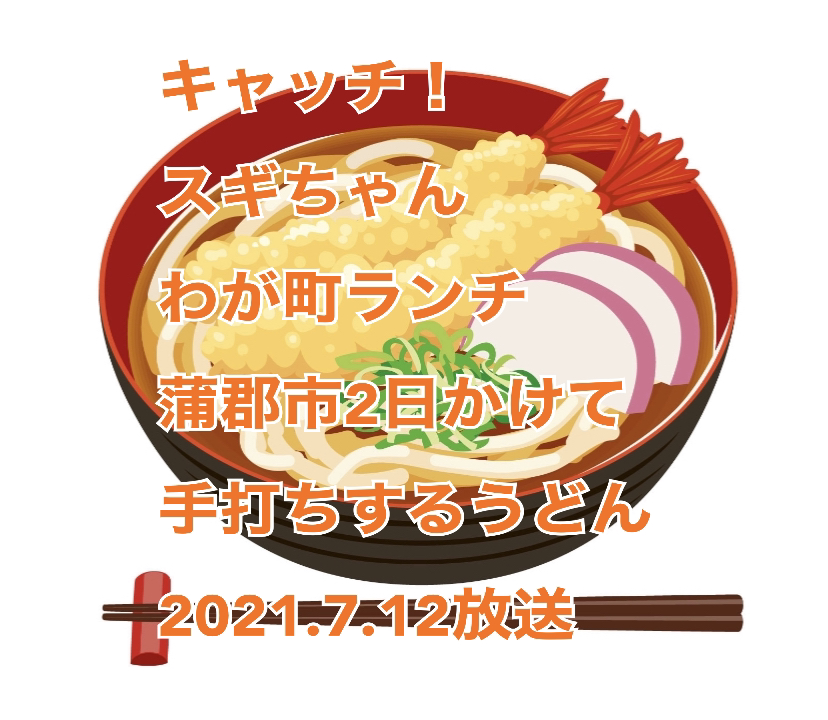 キャッチ 中京テレビ わが町ランチ スギちゃん